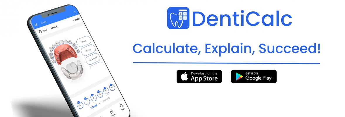 DentiCalc App – Dental Calculator For Dentists