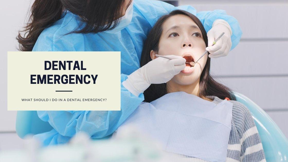 Dental Emergency   What should I do in a dental emergency?