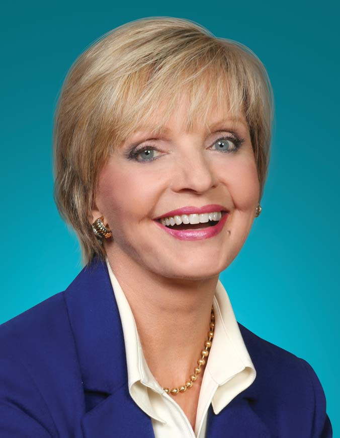 Florence Henderson with False Teeth