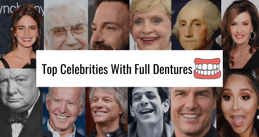 10 Celebrities With Full Dentures