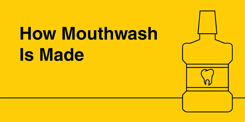 How mouthwash is made?