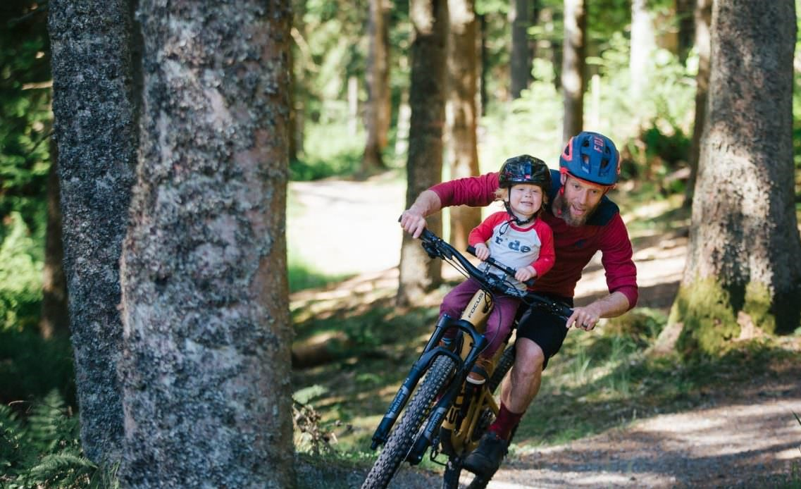Why A Front Child Bike Seat Is More Fun Than A Back Seat
