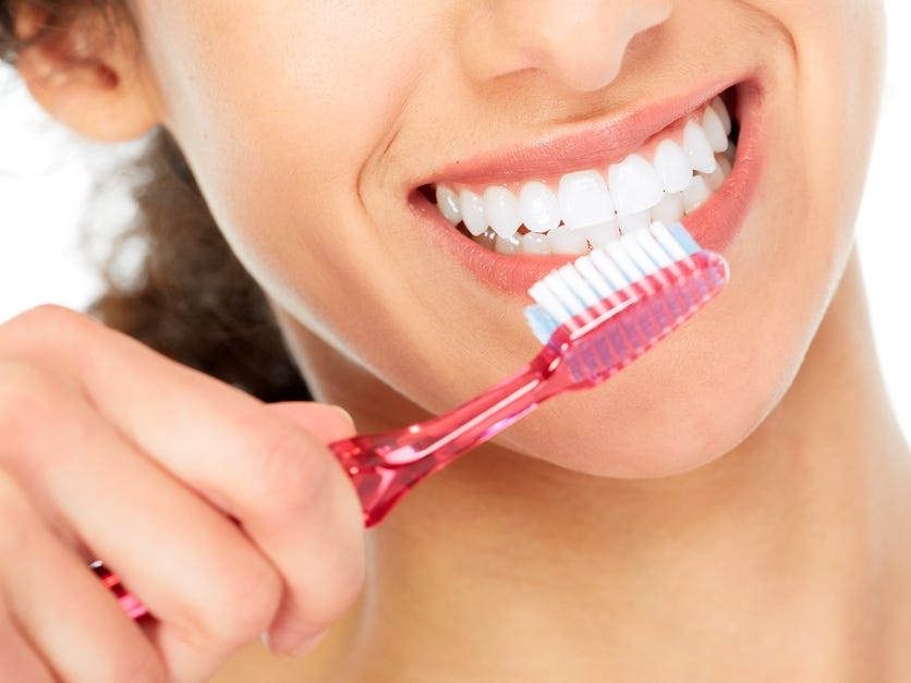 Results of Brushing Teeth with Baking Soda
