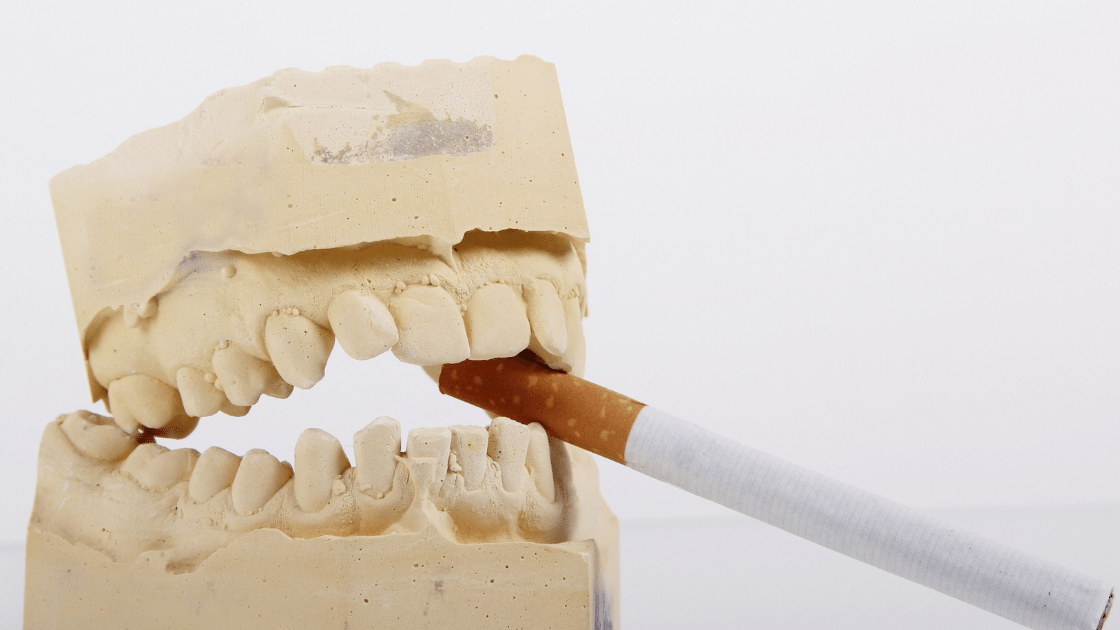 smoking teeth picture