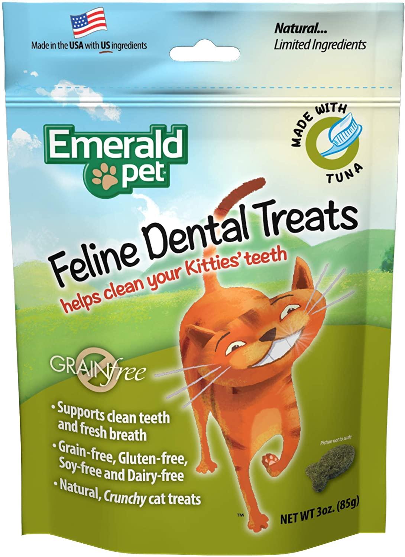 Emerald Pet Feline Dental Crunchy Natural