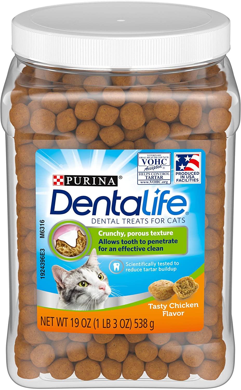 Purina DentaLife Adult Dental Cat Treats